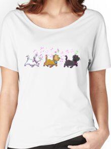 Kitten Trio Women's Relaxed Fit T-Shirt