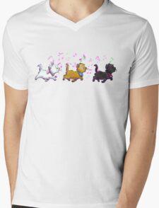 Kitten Trio Mens V-Neck T-Shirt