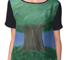 Tree Chiffon Top