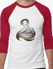 Captain Swan  Men's Baseball ¾ T-Shirt