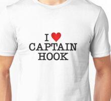 I love Captain Hook Unisex T-Shirt
