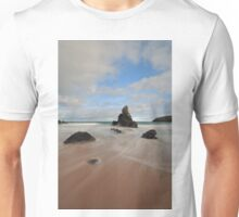Rocks and Sand on Sango Bay Unisex T-Shirt