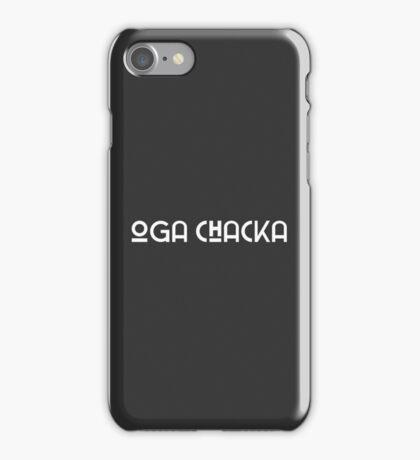 OGA CHACKA iPhone Case/Skin