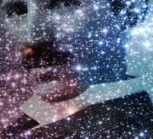 Nikola Tesla Star Mind Very Large Poster Sticker