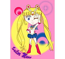 Chibi Chibi Sailor Moon Photographic Print