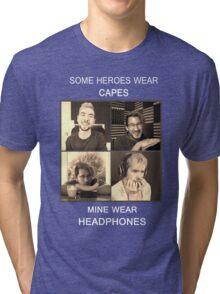 Markiplier and Jacksepticeye: Heroes Tri-blend T-Shirt