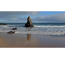 Reflections in Sand on Sango Bay Photographic Print