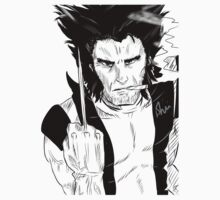 Wolverine  One Piece - Long Sleeve
