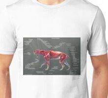 Smilodon Populator Muscle Study Unisex T-Shirt