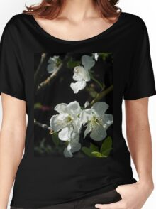 Plum Blossoms Women's Relaxed Fit T-Shirt