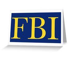 FBI Greeting Card