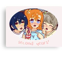 Second Years - LLSIF Canvas Print