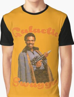 Galactic Swagger with Lando Calrissian Graphic T-Shirt
