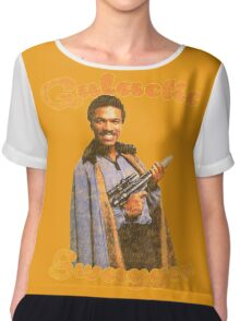 Galactic Swagger with Lando Calrissian Chiffon Top