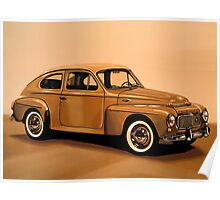 Volvo PV Painting Poster