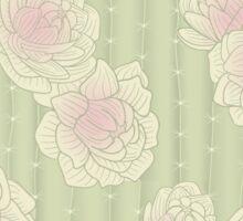 Cacti Blooms Daylight Sticker