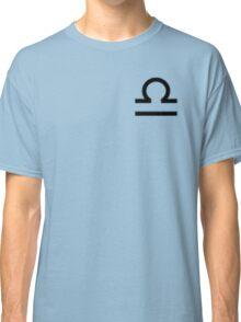 Libra Zodiac Symbol Standard Classic T-Shirt