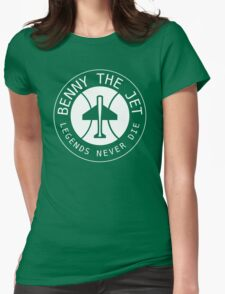 Benny The Jet Womens Fitted T-Shirt
