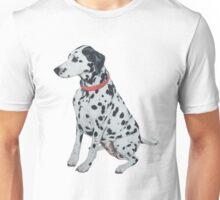 Sticky the dalmatian. Unisex T-Shirt