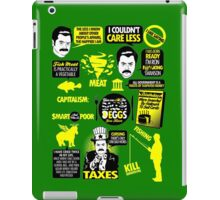 Quotes of a Swanson iPad Case/Skin