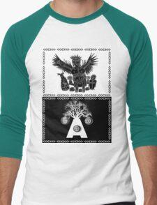 crow shaman dance Men's Baseball ¾ T-Shirt
