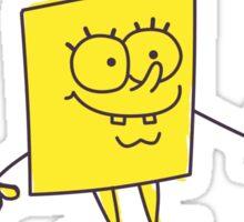 SpongeBob SquarePants Classic - Wanted Maniac Sticker