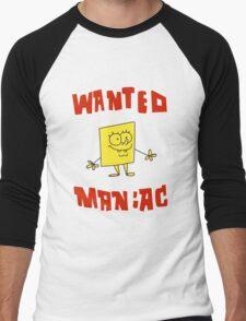 SpongeBob SquarePants Classic - Wanted Maniac Men's Baseball ¾ T-Shirt