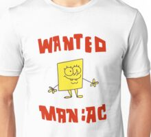 SpongeBob SquarePants Classic - Wanted Maniac Unisex T-Shirt