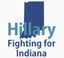Indiana for Hillary Baby Tee