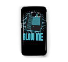 Nintendo Blow Me Cartridge Funny T-Shirt Samsung Galaxy Case/Skin