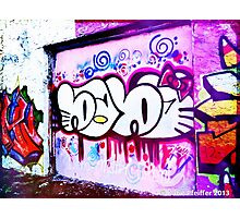 Graffiti, West Philly- September 2013 Photographic Print