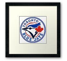 logo 2016 toronto blue jays logo Framed Print