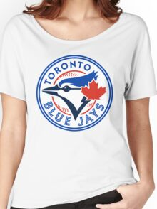 logo 2016 toronto blue jays logo Women's Relaxed Fit T-Shirt