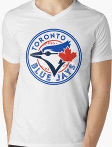 logo 2016 toronto blue jays logo Mens V-Neck T-Shirt
