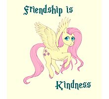 Friendship is Kindness Photographic Print
