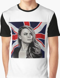 Cara Delevingne Graphic T-Shirt