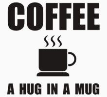 Coffee Hug In Mug Baby Tee