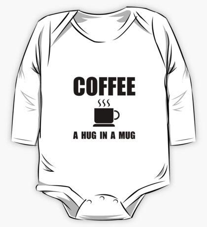 Coffee Hug In Mug One Piece - Long Sleeve