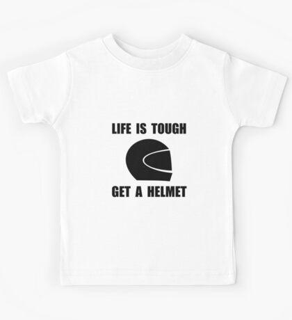 Life Tough Get Helmet Kids Tee