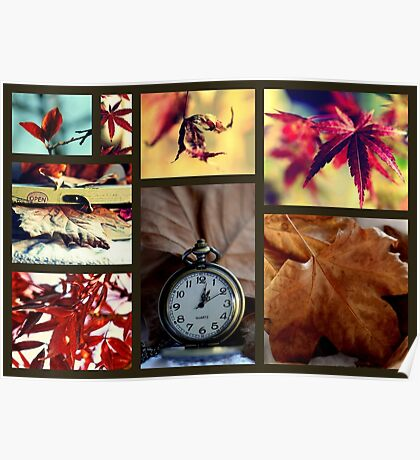 Impressions Of Autumn Poster