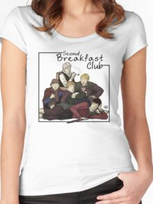 Second Breakfast Club Women's Fitted Scoop T-Shirt