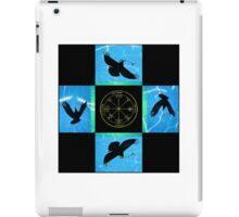 Aqua Ravens iPad Case/Skin