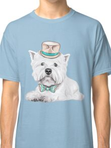 dog West Highland White Terrier Classic T-Shirt