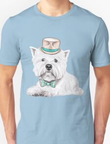 dog West Highland White Terrier Unisex T-Shirt