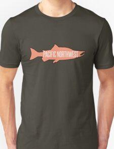 PNW Salmon Fish T-Shirt