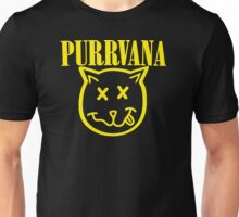 Purrvana Cat Parody Unisex T-Shirt