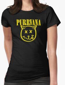 Purrvana Cat Parody T-Shirt