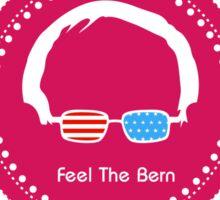 Bernie Sanders - Feel The Bern (Wow Rainbow) Sticker