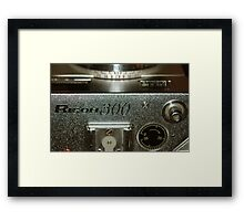Photograph of Photographic Equipment. Framed Print