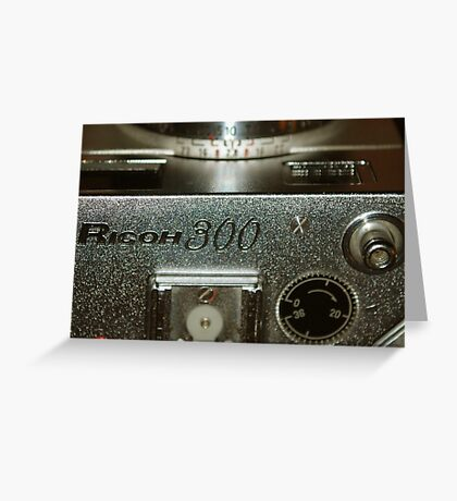 Photograph of Photographic Equipment. Greeting Card